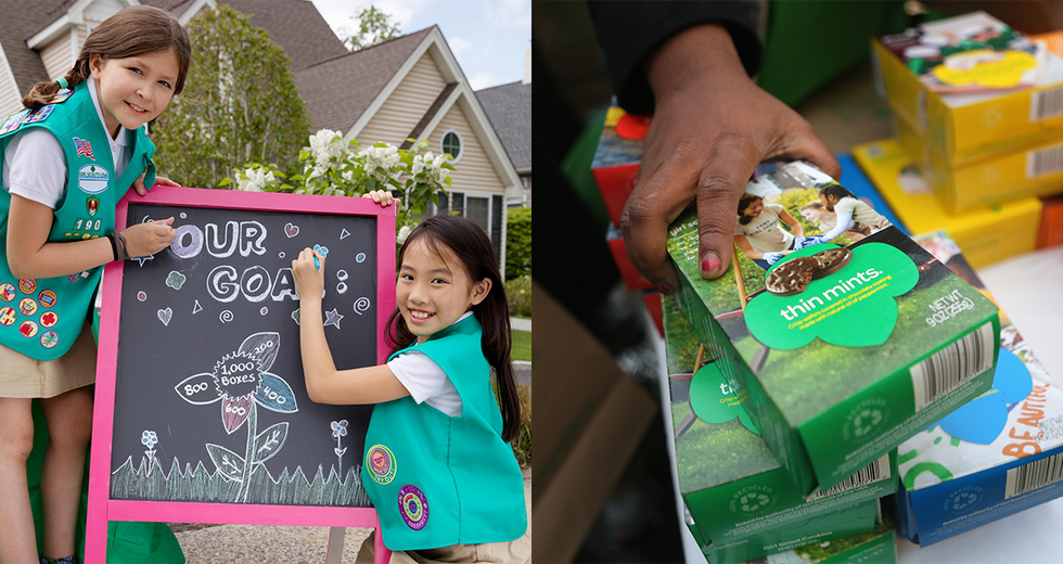 Girl Scout Cookie Season Tweets That Will Make You Laugh Into Your Box of Samoas