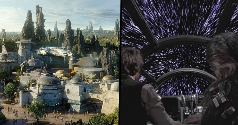 Disneyland's New Star Wars Ride Could Be 28 Minutes Long