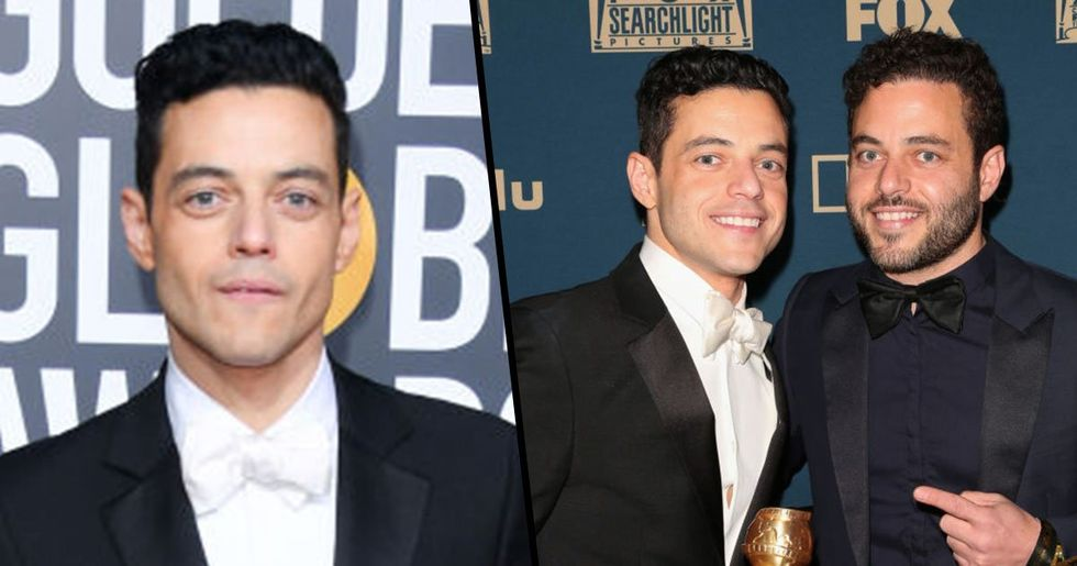 Rami Malek Has A Twin Brother Whose Life Couldn't Be More Different