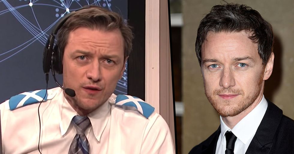 Nobody Could Believe What James McAvoy Sounded Like On 'SNL'