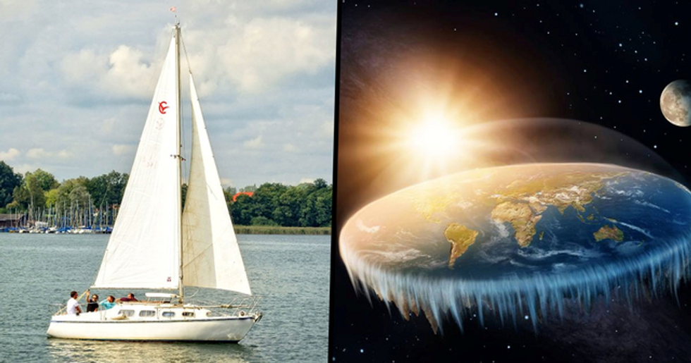 People Want Reality TV Show Where Flat Earthers Look for the Edge of the World