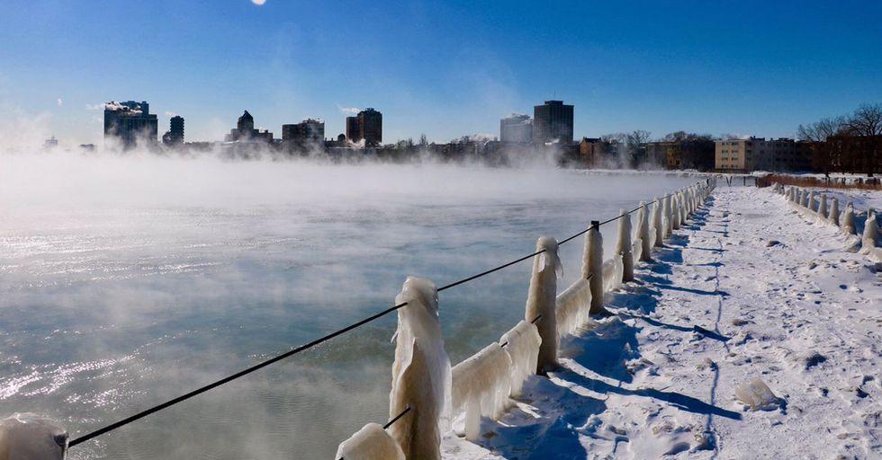 People Are Now Calling Chicago's Polar Vortex 'Chiberia'