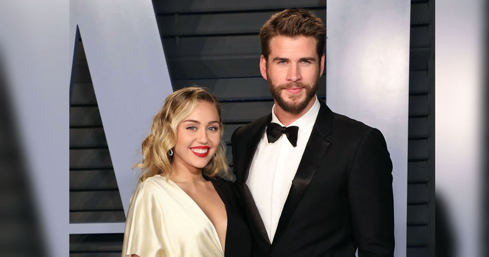 Miley Cyrus Had the Sweetest Reaction to Liam Hemsworth Calling Her 'His Beautiful Wife'