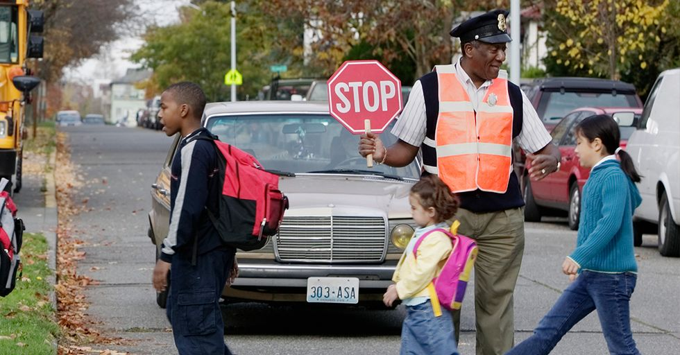 After A Hard Month, Beloved Crossing Guard Gets A Heartfelt Surprise From Community