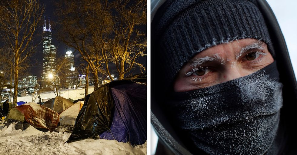 Anonymous Good Samaritan Pays for Hotels for 70 Homeless People in Chicago During Polar Vortex