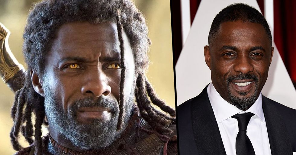 Idris Elba Shaves off Beard for New Role