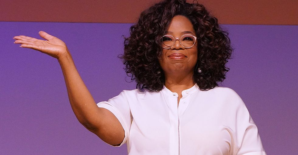 Oprah Was Spotted Handing Out Tequila Shots in Her Pajamas on a Caribbean Cruise Ship