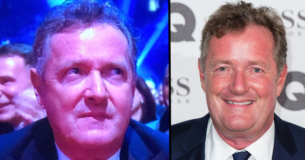 Piers Morgan's Reaction to Not Winning an Award Is Something Everyone Needs to See
