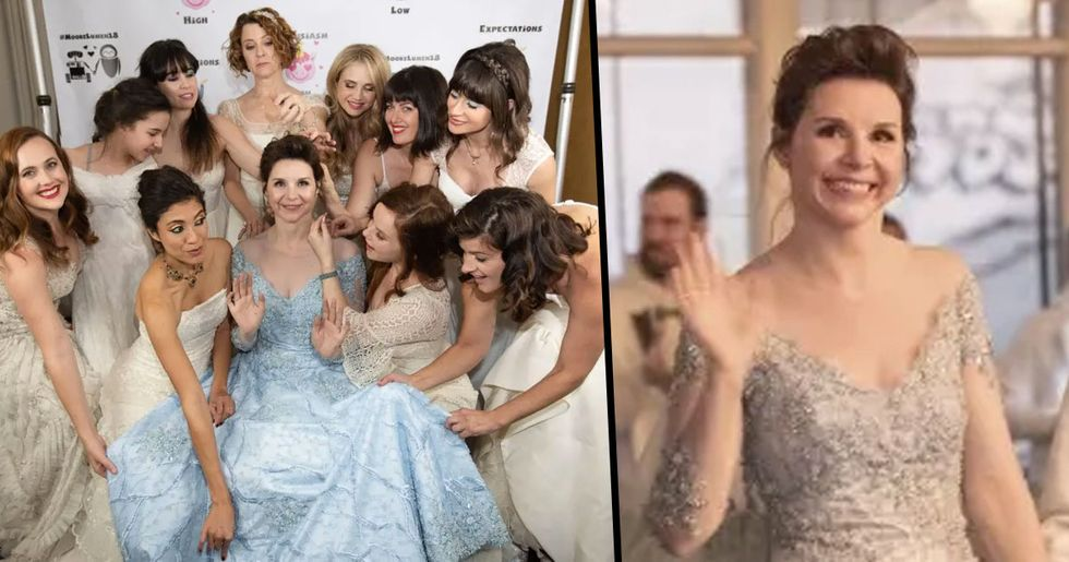 Bride Invites Everyone To Wear Their Old Wedding Dresses To Her Wedding