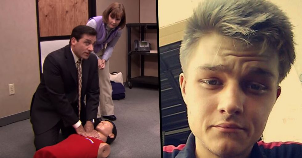 Man Uses CPR He Learned From 'The Office' To Save Woman's Life
