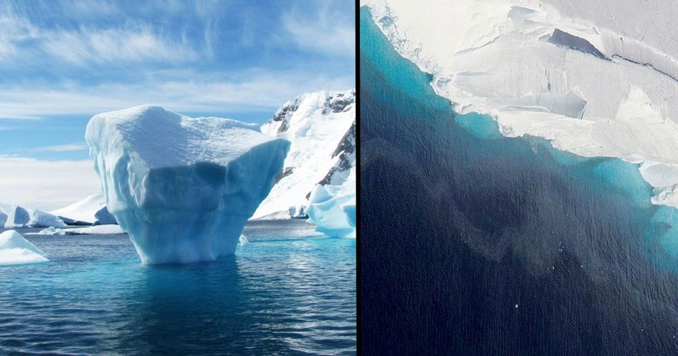 Hole That's Over Half the Size of Manhattan Forms Under Antarctic Glacier