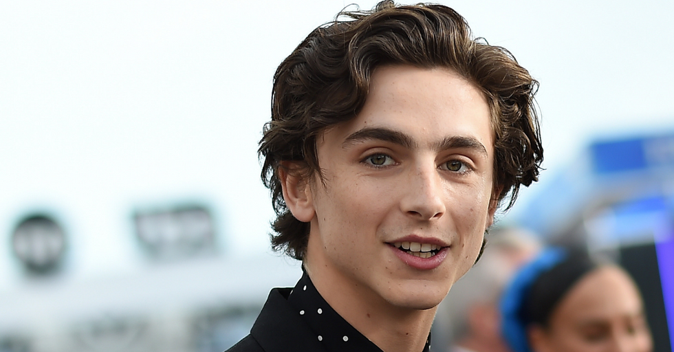 Girl Who Sat Next to Timothée Chalamet on Her Flight Now Has the Best Story