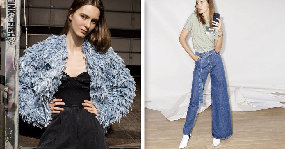 Asymmetrical Jeans Are 2019's Most Bizarre Fashion Trend