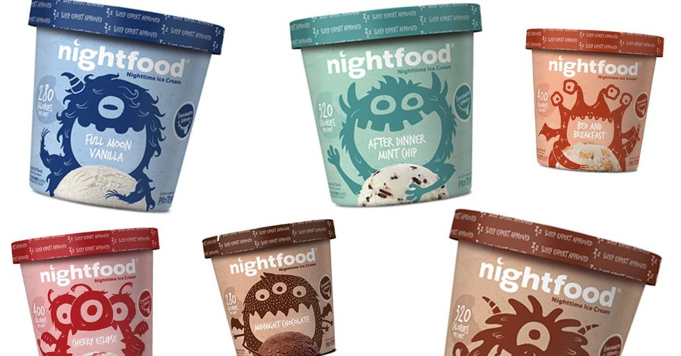 This Low-Calorie Ice Cream Claims to Help You Get Better Sleep
