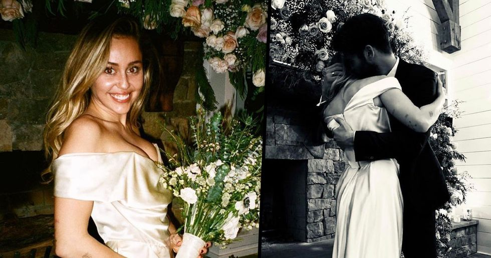 Miley Cyrus Posts Entire Wedding Album on Instagram and the Pictures Are Stunning