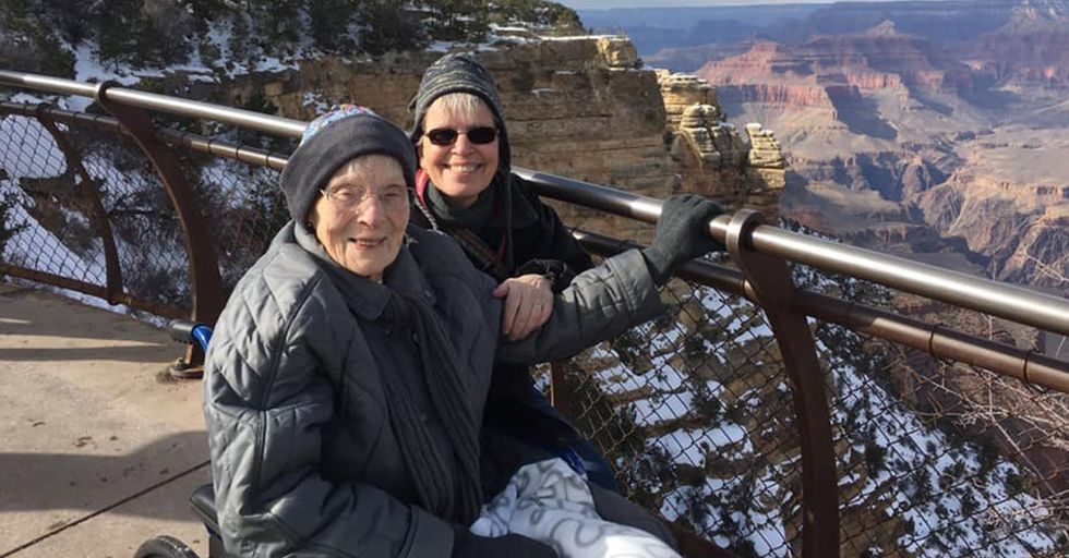 A 103-Year-Old Woman Becomes Junior Ranger at Grand Canyon National Park