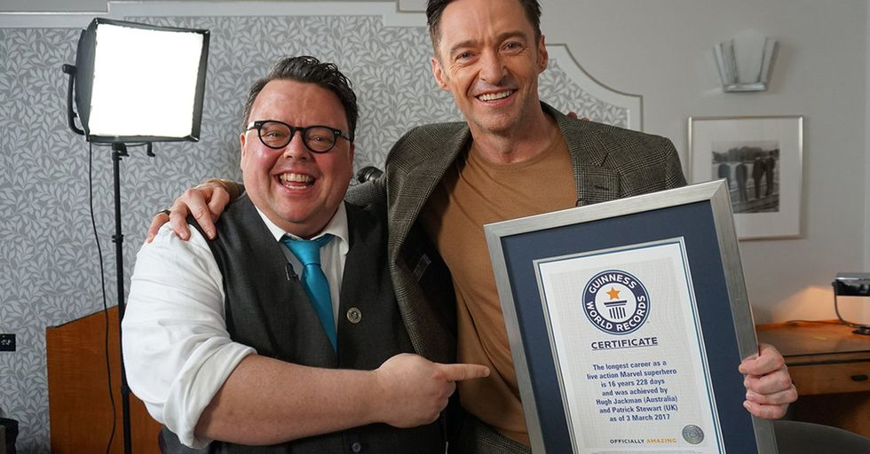 Hugh Jackman Just Won a Surprise Guinness World Record