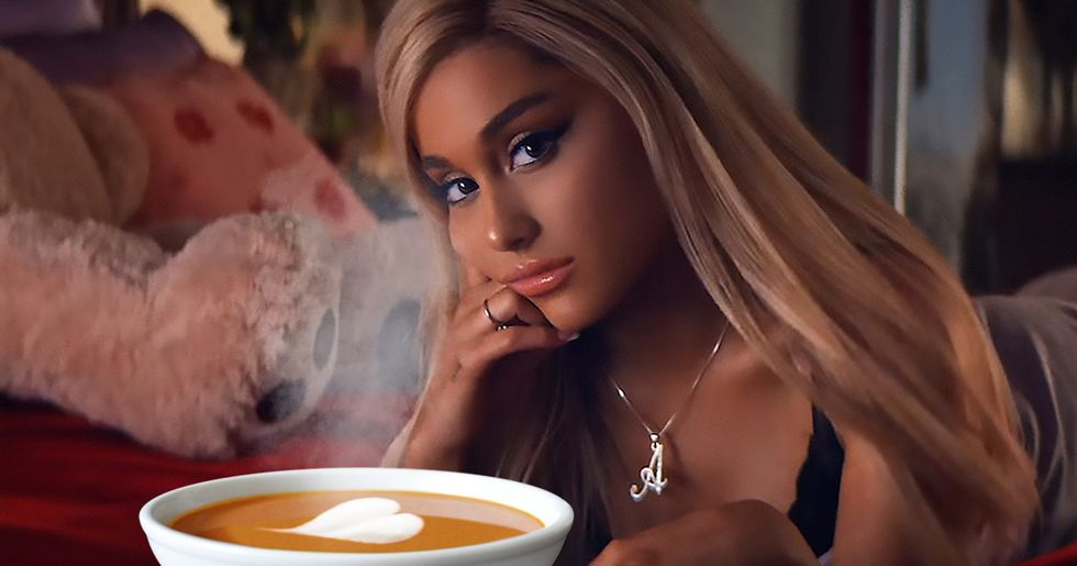 Ariana Grande Just Sparked a Hilarious Twitter Debate About Soup