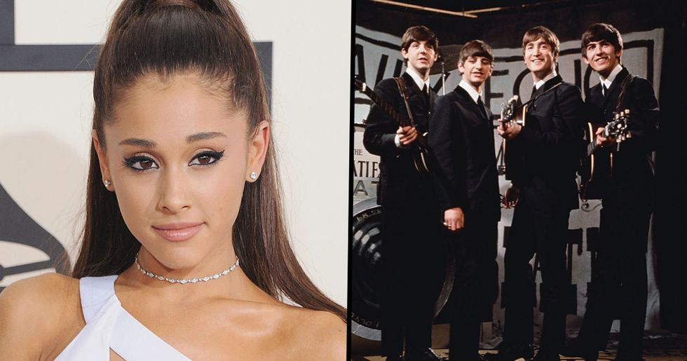 Ariana Grande Equals World Record Held by The Beatles Since 1964