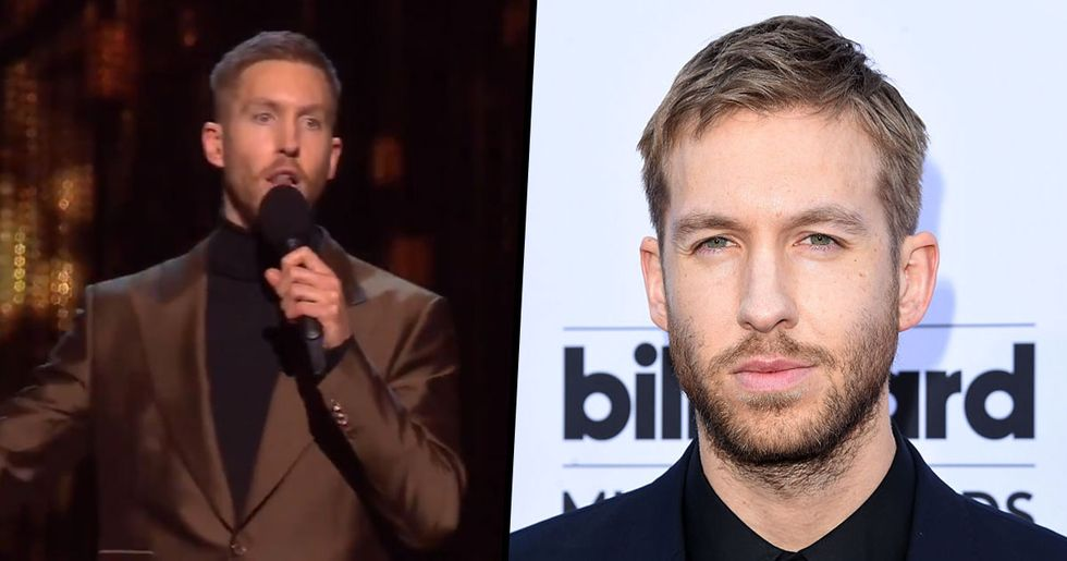 People Couldn't Believe What Calvin Harris Actually Sounds Like