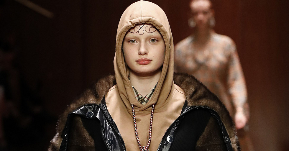 Burberry Apologizes for 'Noose Sweatshirt' That Glamorizes Suicide