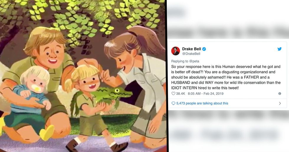 PETA Receive Huge Backlash for Their Response to Steve Irwin's Google Doodle