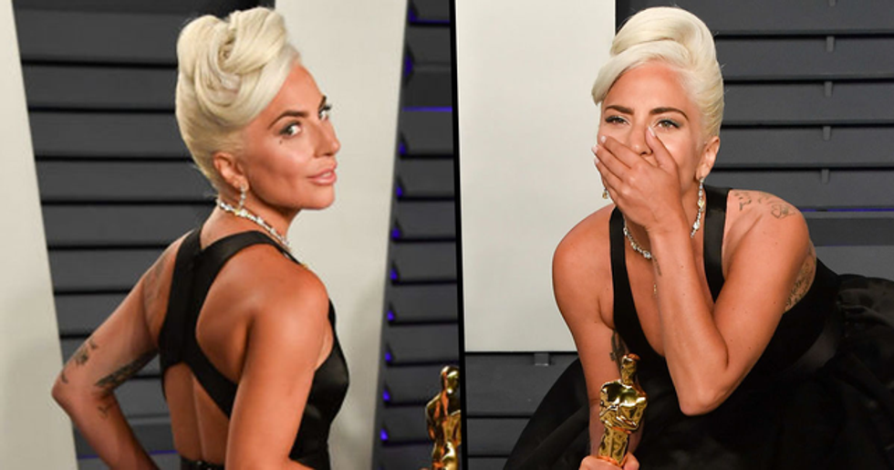 Lady Gaga Wore a $30 Million Tiffany Necklace to The Oscars