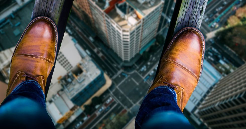 Don't You Dare Look at These Photos If You're Even a Little Afraid of Heights