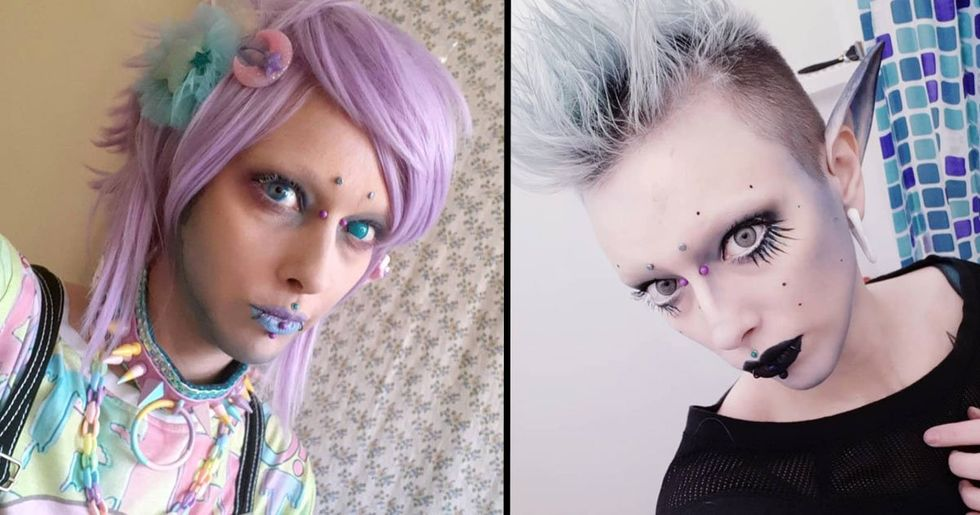Man Has Nipples Removed and Wants to Live as a Genderless Alien