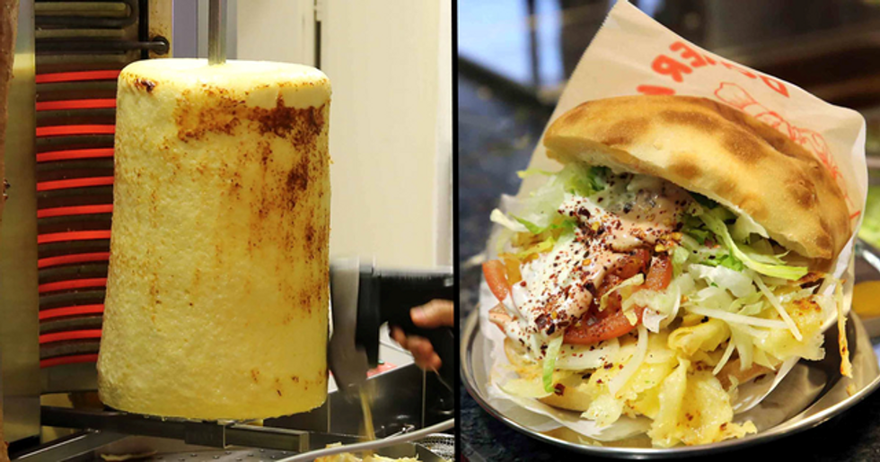 The Cheebab Is a Vegetarian Kebab for All You Cheese Lovers