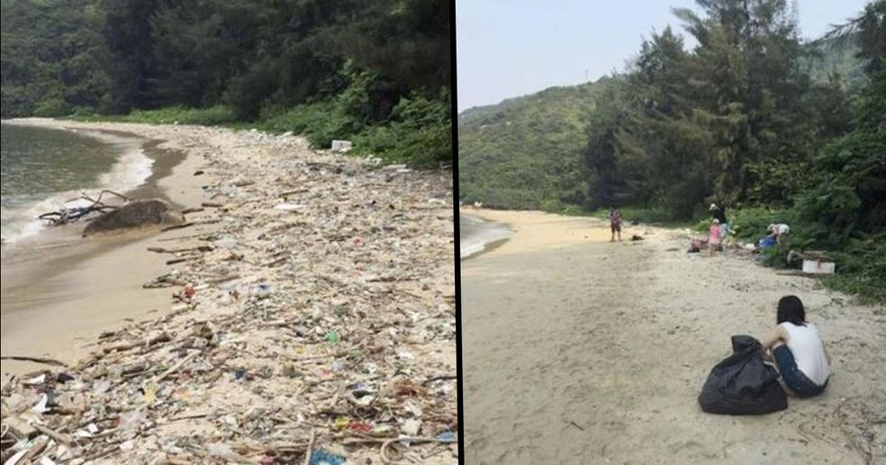The #Trashtag Challenge Has People Cleaning up Parks and Beaches All Over the World
