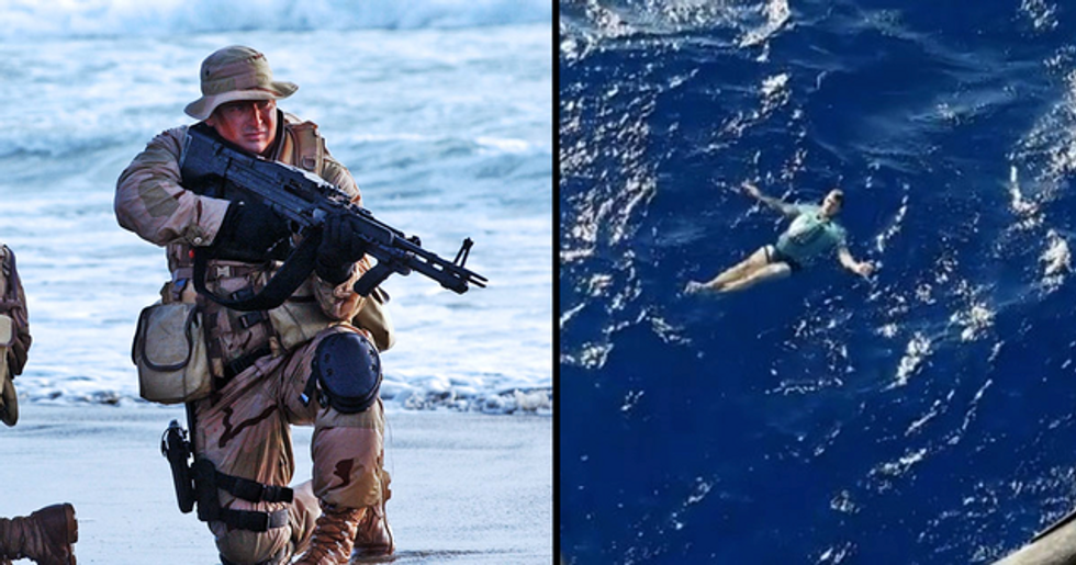 Man Survives Hours Lost at Sea Thanks to Trick Used by Navy Seals