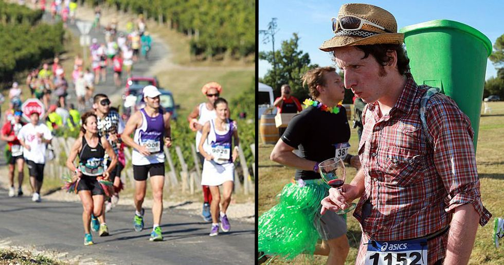 Marathon Where You Can Eat Cheese and Drink Wine Is Back