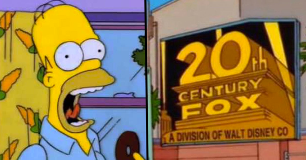 Disney Officially Buy 20th Century Fox as Another 'Simpsons' Prediction Comes True