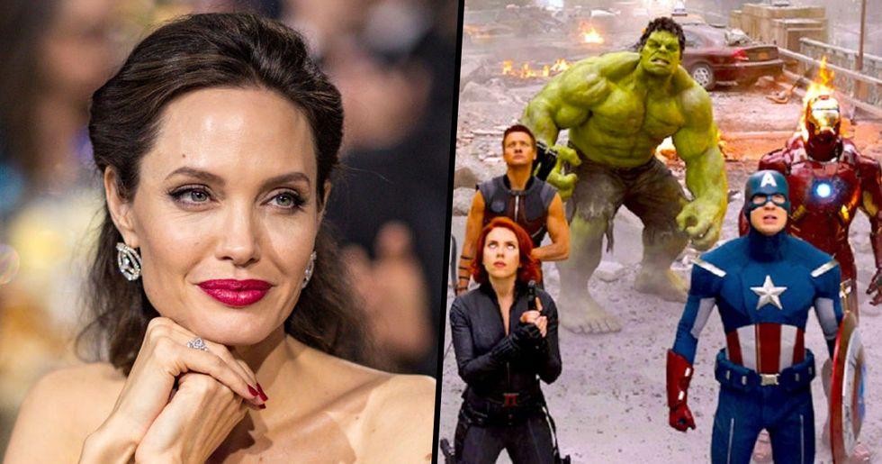 Angelina Jolie Set to Join Marvel Universe