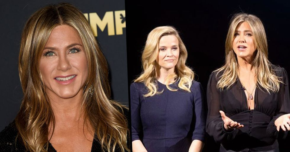 Everyone Made the Same Joke About Jennifer Aniston at Apple TV+ Launch