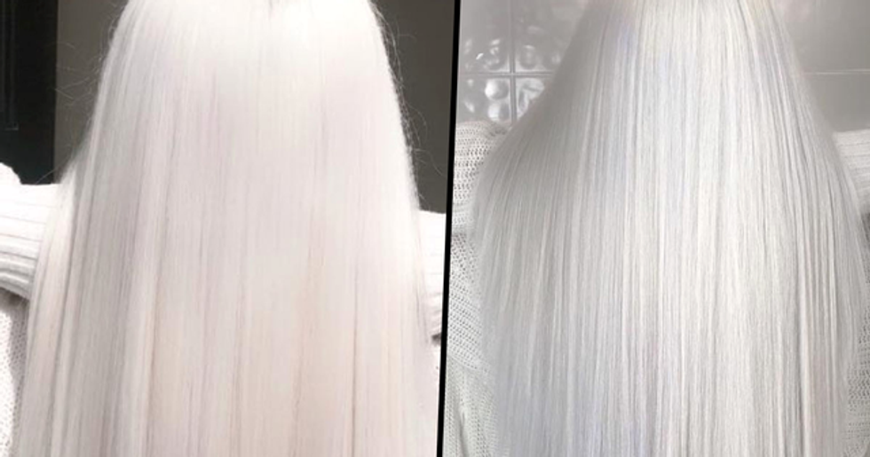 Nordic White Hair Is the Lightest Shade of Platinum Ever