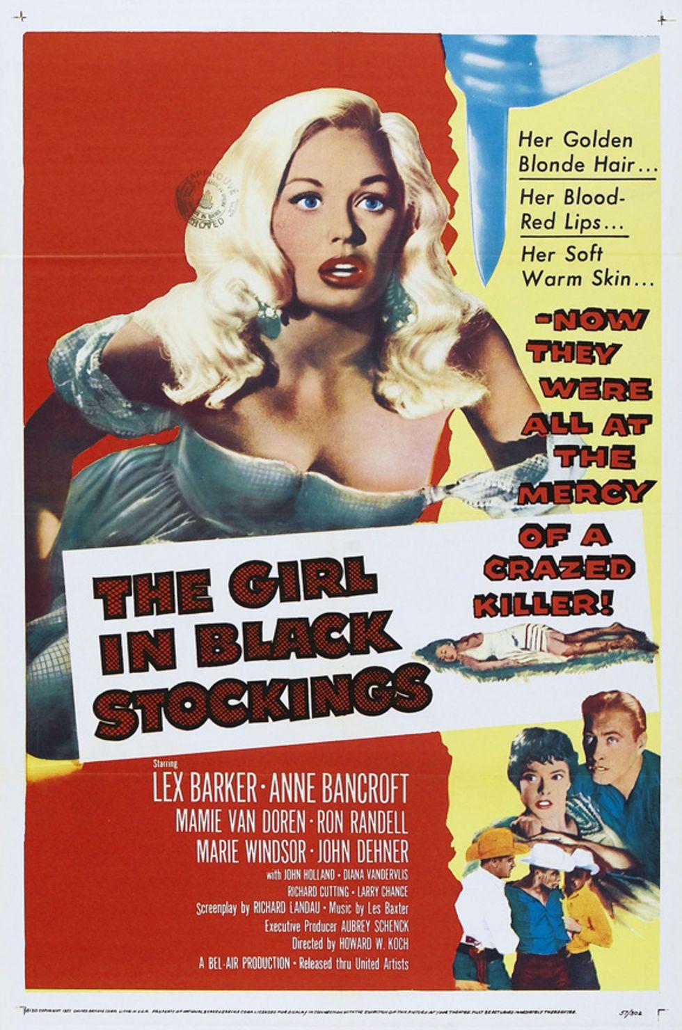 Oddball Noirish Thriller The Girl In Black Stockings On DVD
