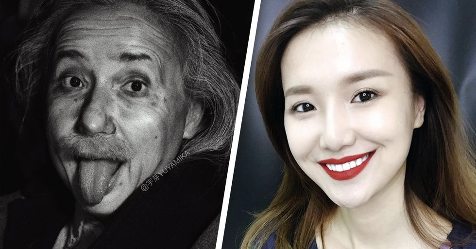 This Chinese Vlogger Transforms Into Celebrities Using Only Makeup