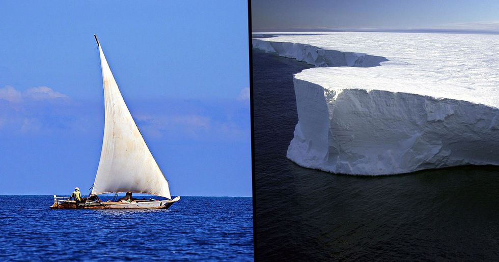 Flat Earthers to Sail to Antarctica to Prove Earth Isn't Round