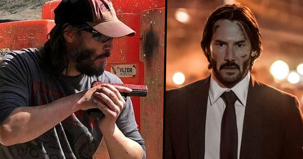 Keanu Reeves Trained with Navy Seal for John Wick 3