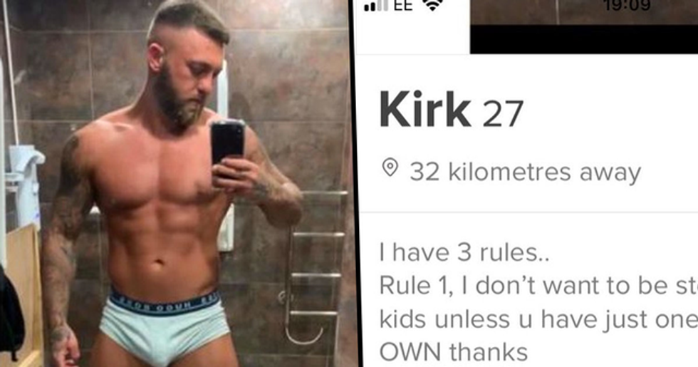 Bodybuilder Sparks Outrage With His Controversial Tinder bio