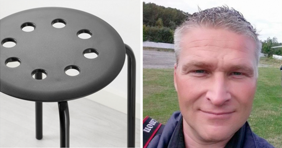 Man Gets Testicles Trapped in IKEA Chair