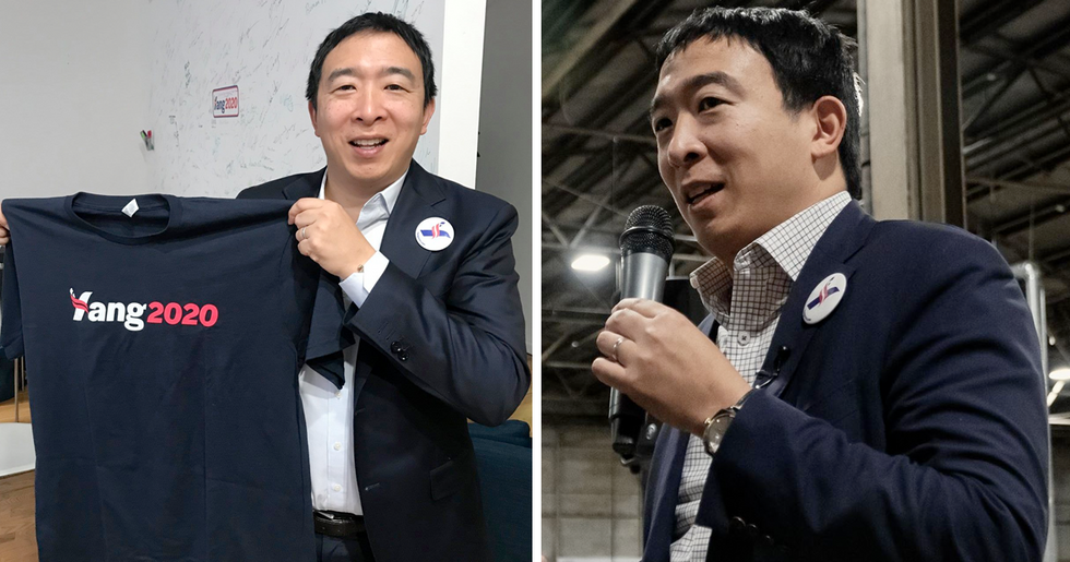 Presidential Candidate Andrew Yang Wants To Give $12,000 To Everyone