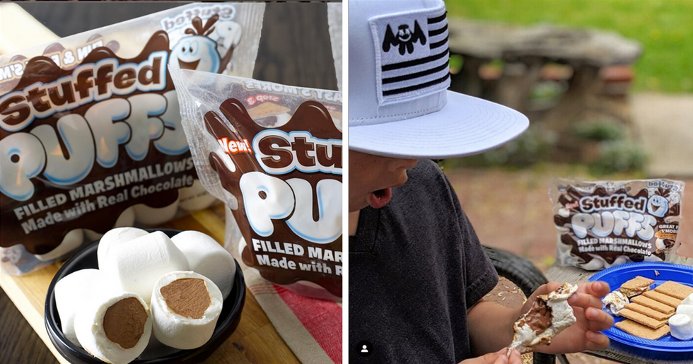 Chocolate Stuffed Marshmallows Are Going to Make S'mores Even Better