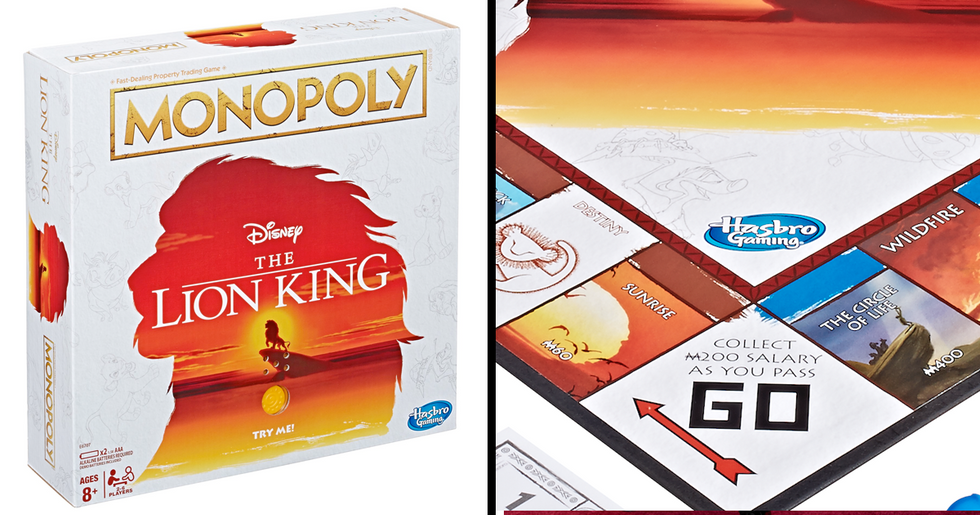 'Lion King' Monopoly Is Now a Thing and It Comes with a Mini Pride Rock