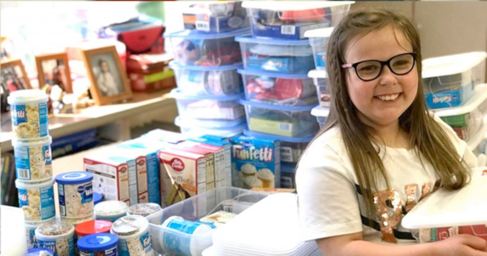 Nine Year Old Girl Makes 'Birthday Boxes' for Classmates Who Can't Afford Presents