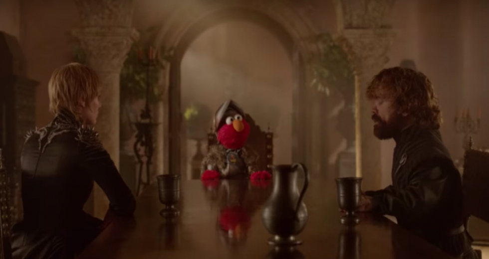 This 'Game of Thrones' 'Sesame Street' Mashup is Literally Perfect