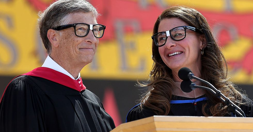 Billionaires Bill and Melinda Gates Wash Dishes Together Every Night to Help Their Marriage