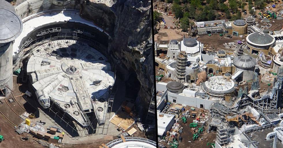 Disney World's $1 Billion 'Star Wars' Land Is Almost Finished